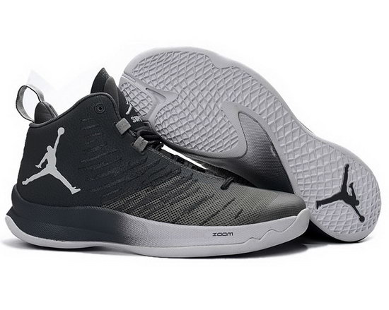 Air Jordan Super Fly V Grey White China